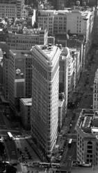 Flatiron building BW by aafshari