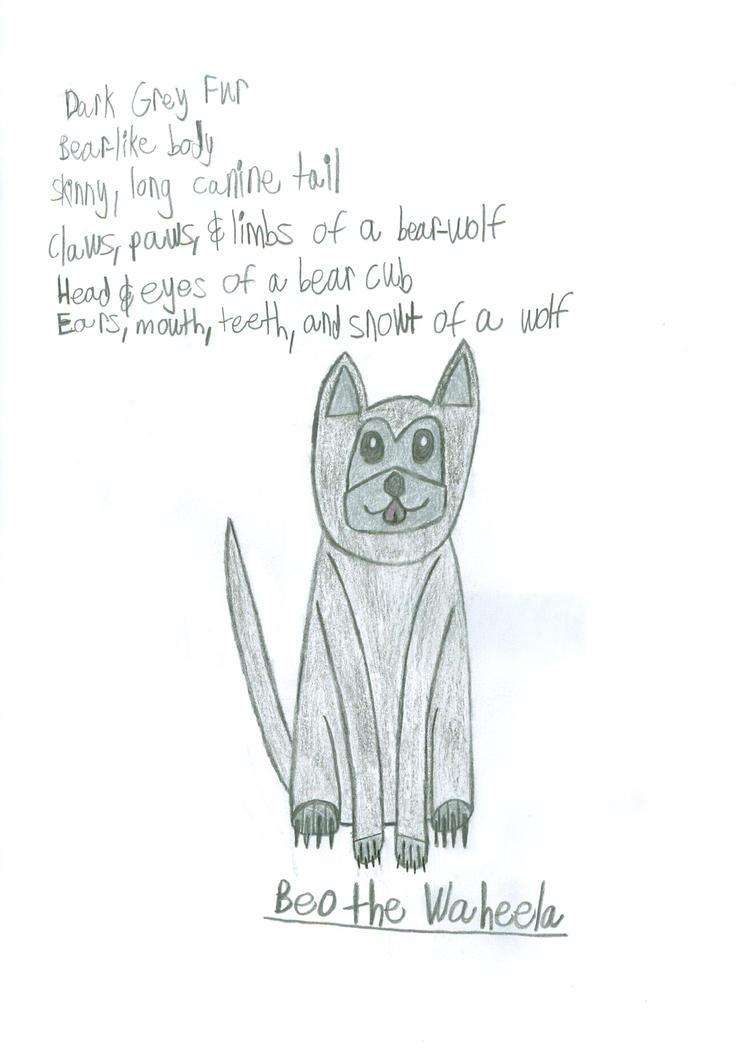 MLP: FiM Original Creature - Beo the Waheela by saber360