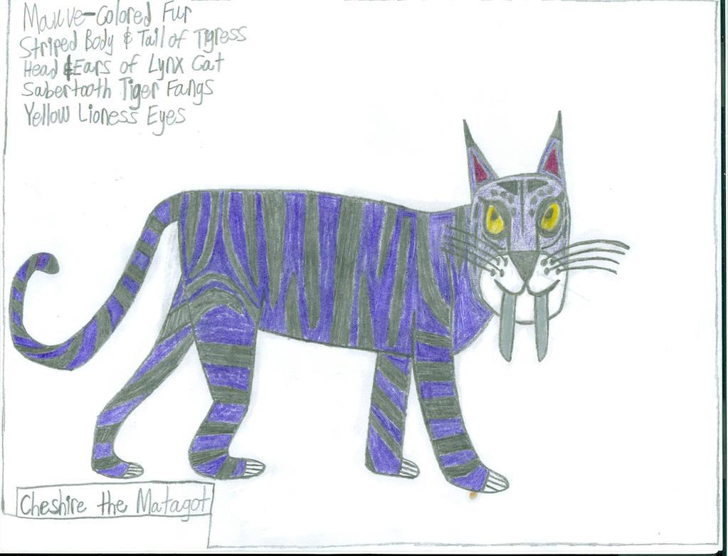 Cheshire the Matagot, an MLP: FiM OC Creature by saber360