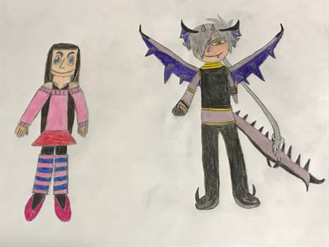 Yukari and Miruki