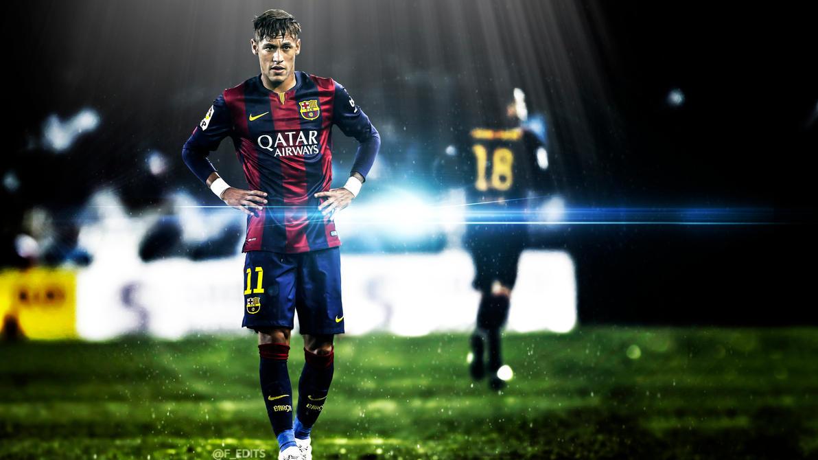 barcelona's neymar jr. hd wallpaperf editsf-edits on deviantart