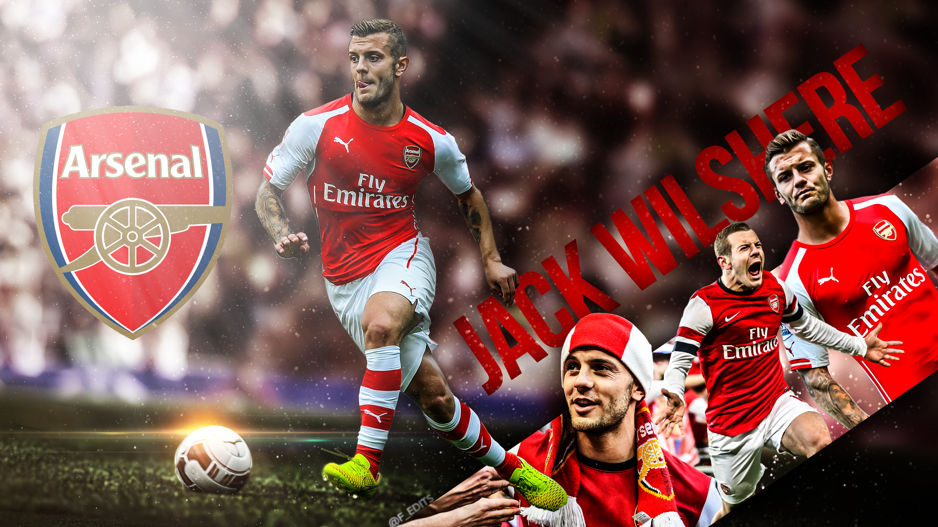 jack wilshere wallpaper hd by fedits on deviantart