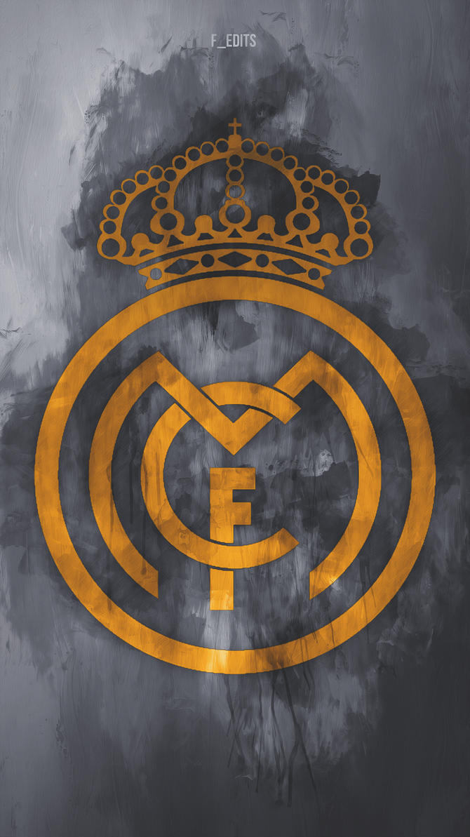 Real madrid logo by f edits on deviantart real madrid logo by f edits voltagebd Images
