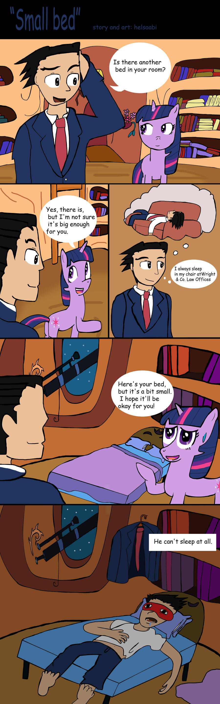 Small bed by Helsaabi