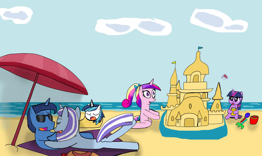 Sparkle Family Vacation by Helsaabi