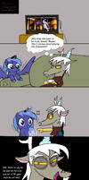 Filly luna vs teenage Discord