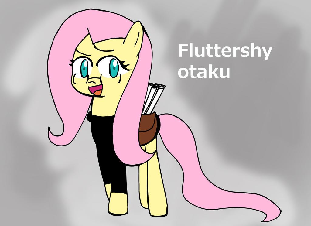 Fluttershy is Otaku! by Helsaabi