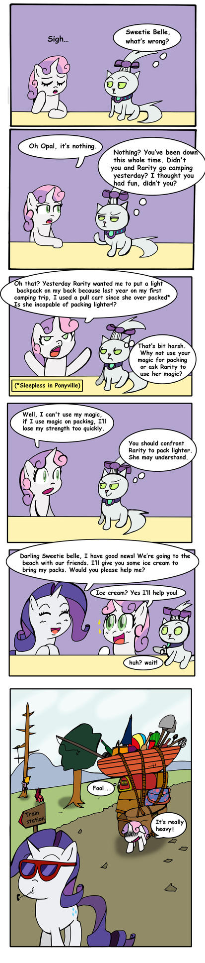 (Opal's life 88) After Campfire Tales by Helsaabi