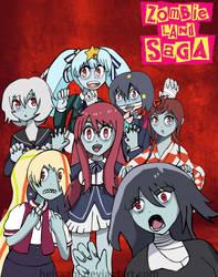 Zombie land Saga (anime of Fall 2018) by Helsaabi