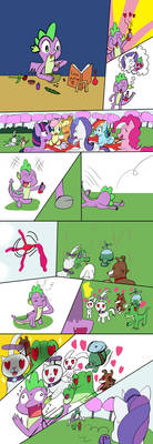 Spike's love potion (request comic)