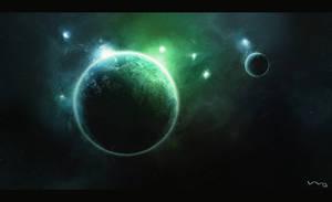 First Space Art v.2 by MaCiupa-eMCe