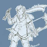 Twitch community: Akuro sketch