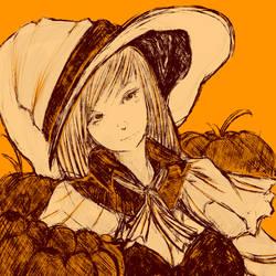 Happy Halloween sketch