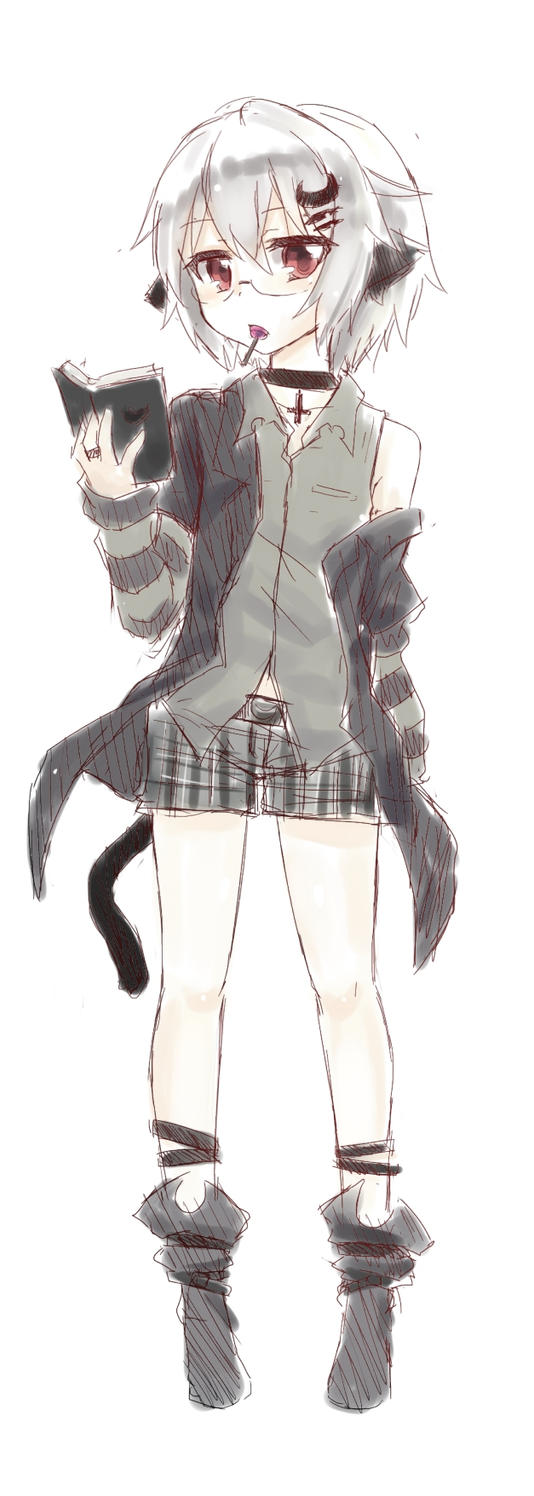 shorts by UnnameNeko