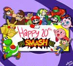 January 23 2019 - Smash Bros 20th Anniversary