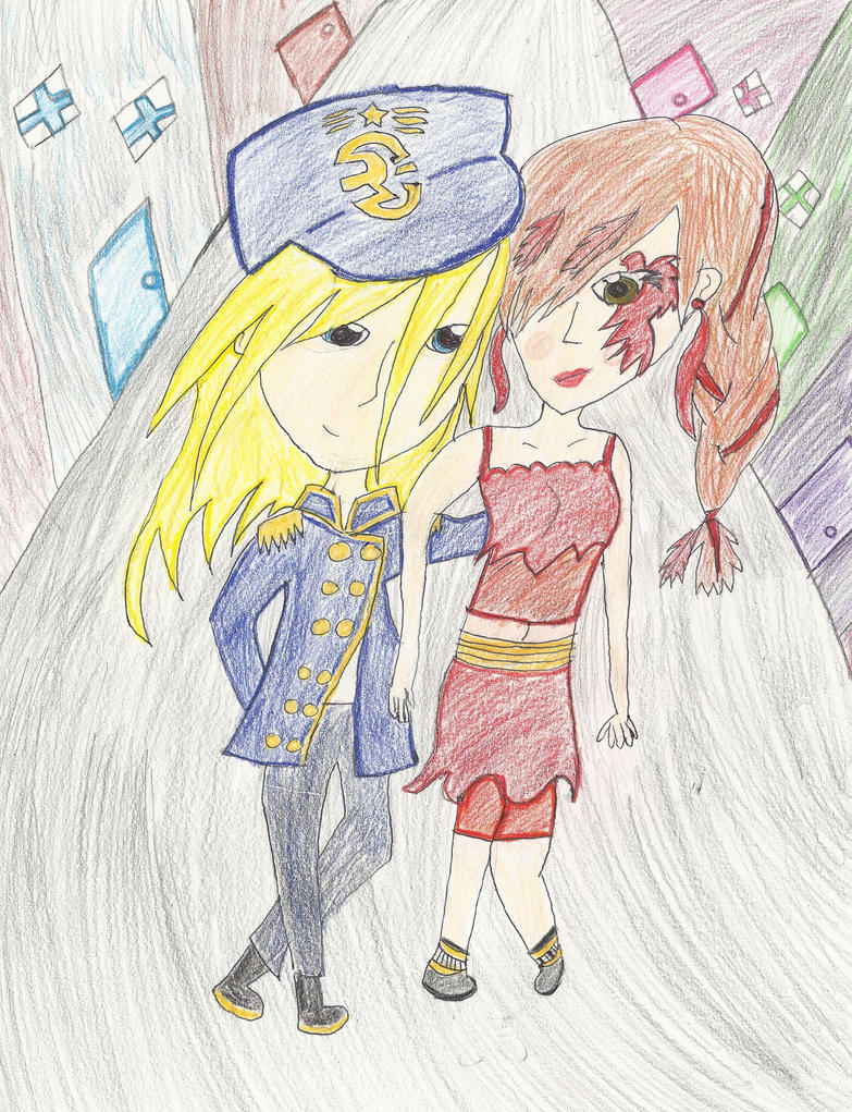 Prodigy- Day and June by kisstna on DeviantArt