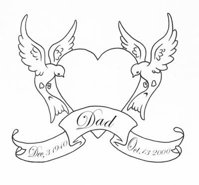 Dove Tattoo Designs Gallery 25