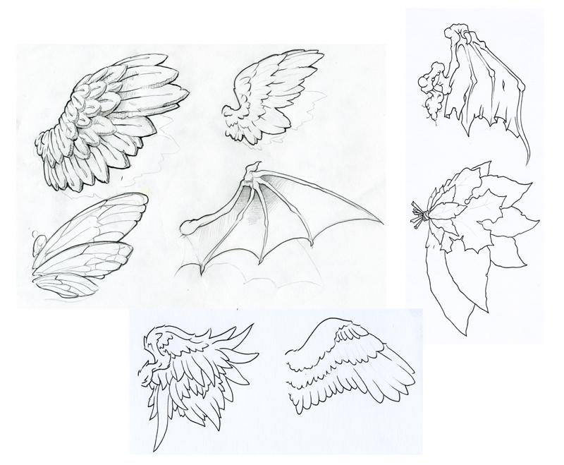 Wings by JoshDixArt