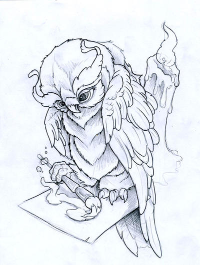 Owl Tattoo Design Picture 2