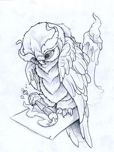 Painting Owl by JoshDixArt on DeviantArt Raccoon Eye Mask