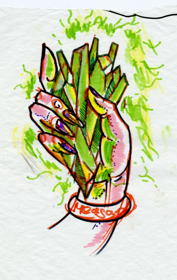 Hand With Kryptonite By Joshdixart On Deviantart