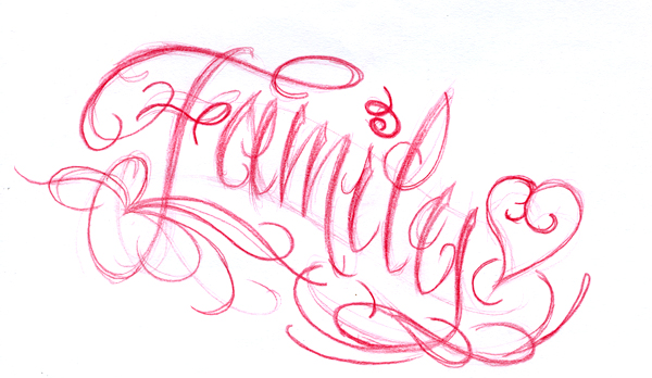 Family script by joshdixart on deviantart Script art