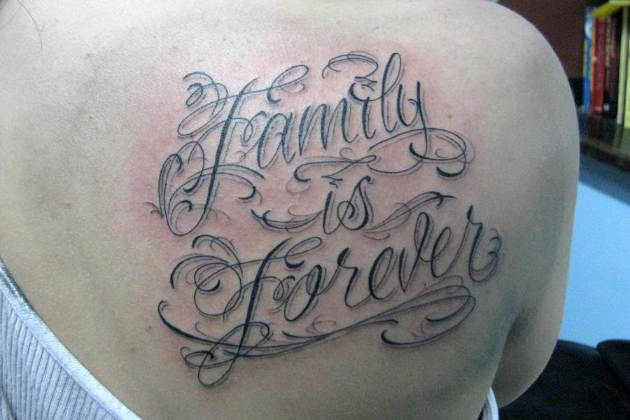 Family Is Forever Script By Joshdixart On Deviantart