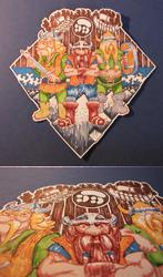 The Lost Vikings Fan-sticker by milzs