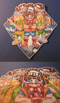 The Lost Vikings Fan-sticker