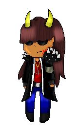 Dora the Badass Pixel Pagedoll by RayMcCall-ErronBlack