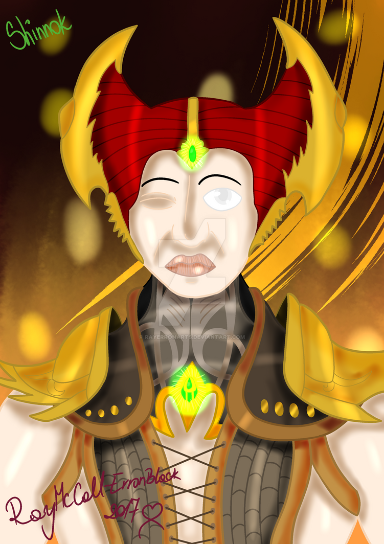 Shinnok by RayErronArts