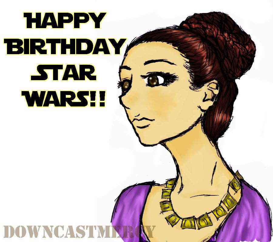 Happy Birthday Star Wars By Chellendora On DeviantArt