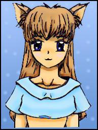 Shoujo Anime Cat Girl by Arwym