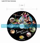 Label CD INDONESIA INSPIRASIKU
