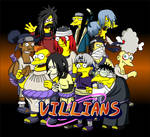 Naruto Simpsons - Villians