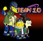 Naruto Simpsons - Team 10