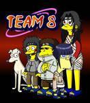Naruto Simpsons - Team 8