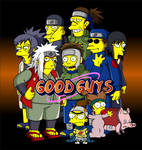 Naruto Simpsons - Good Guys