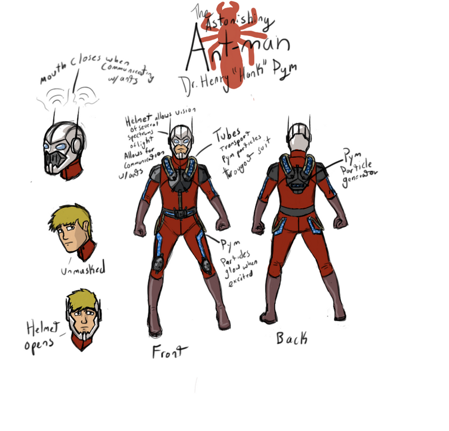 QS Ant Man Costume Redesign By Knightmare58687 On DeviantArt