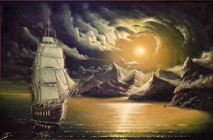 Heavy sea by hitforsa