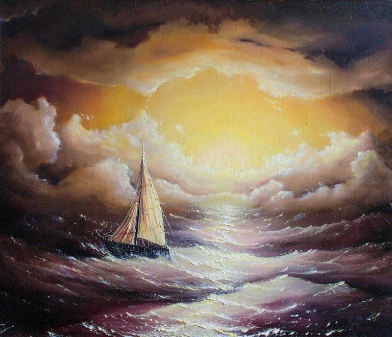 The sea by hitforsa