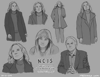 NCIS human practice by namu-the-orca