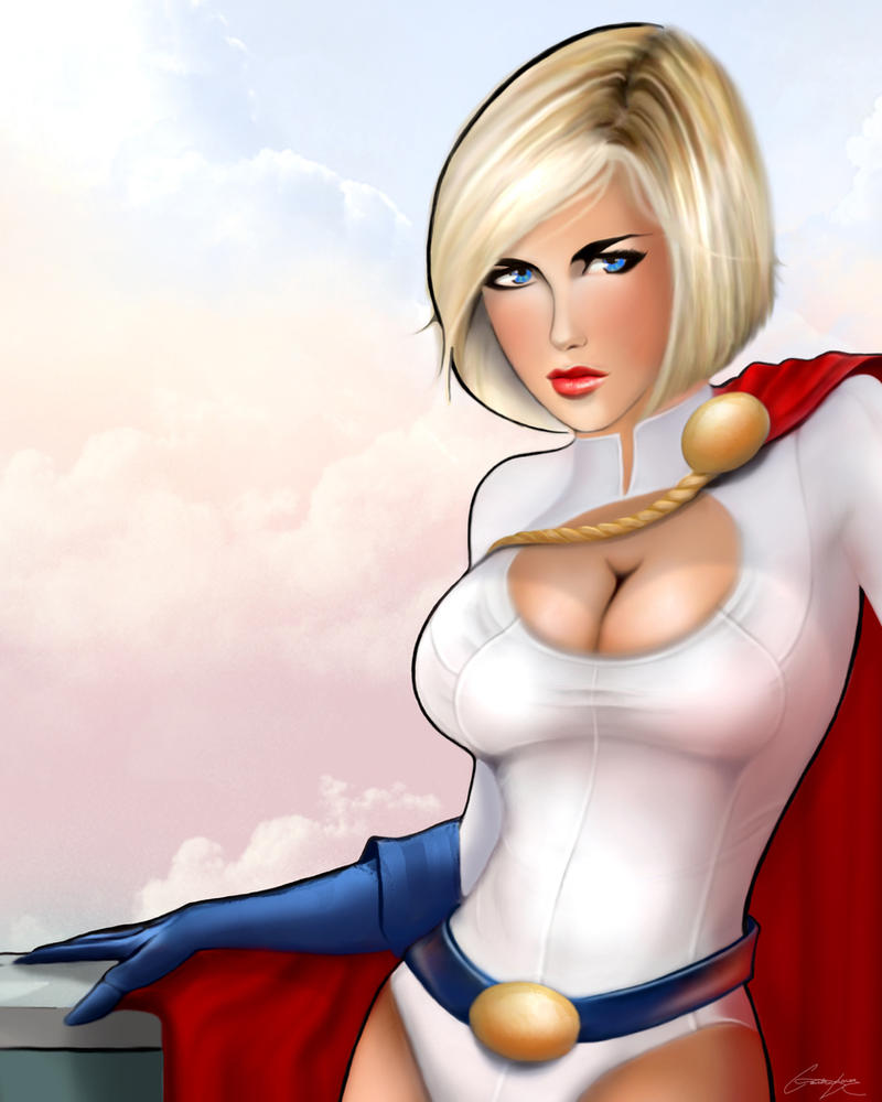 Power Girl by MonkeyNinja