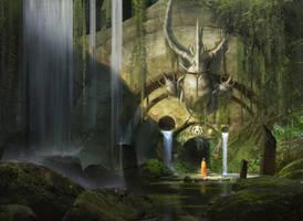 Golgari Guildgate - Magic The Gathering by EytanZana