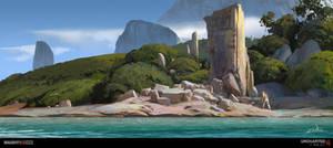 Uncharted 4 - Beach Ruins