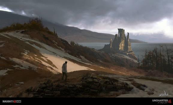 Uncharted 4 - Scotland Hillside