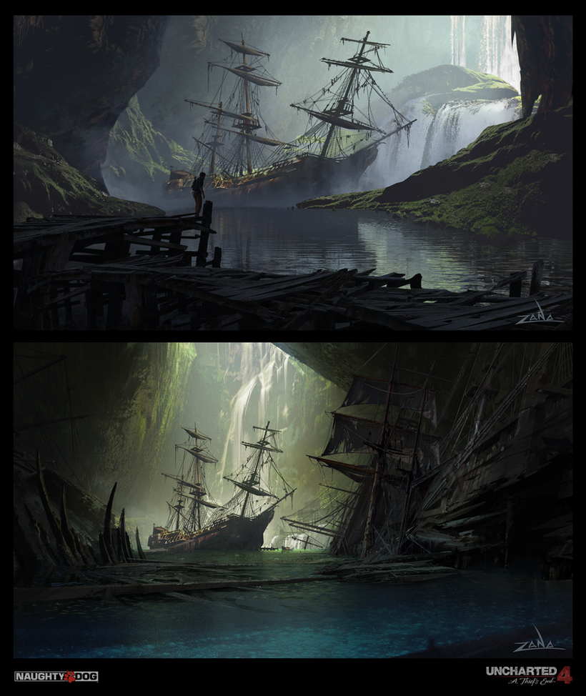 Uncharted 4 - Pirate Cave Reveal by EytanZana