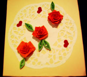 Quilling card 13