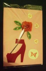 Quilling card 16