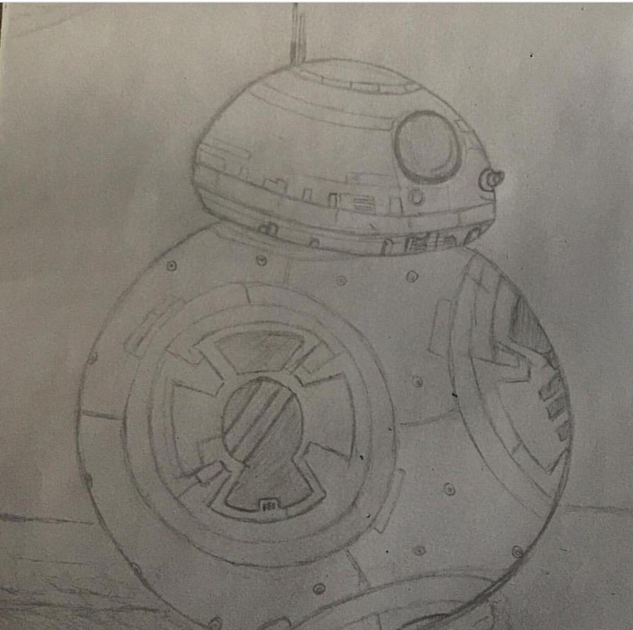 BB-8 sketch by phoebe-d